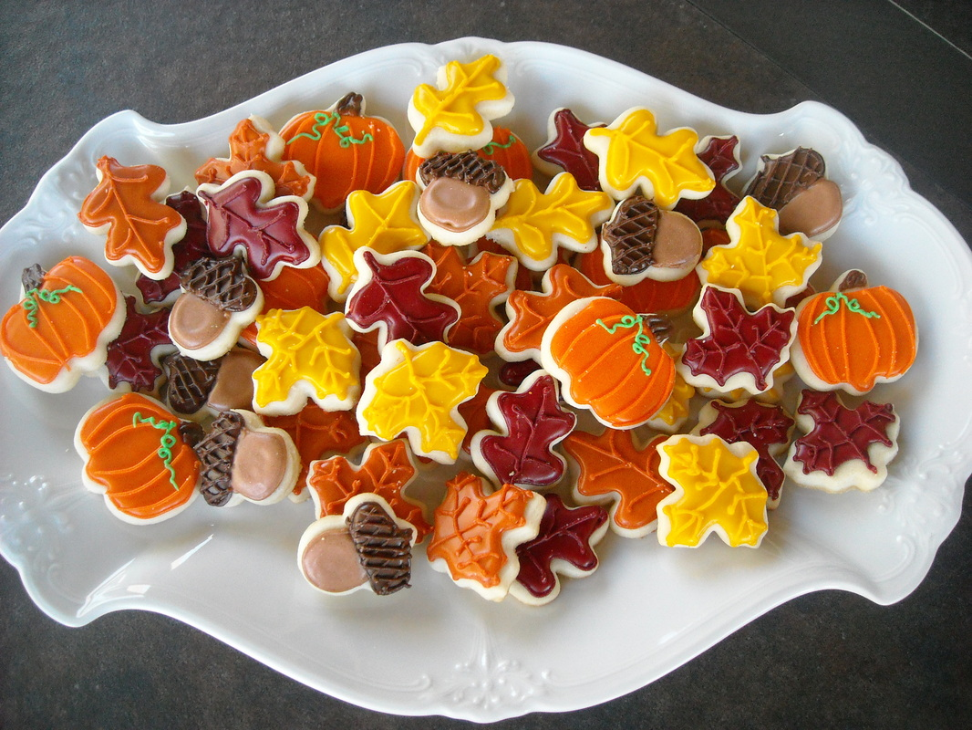 photo ideas for wedding party - Thanksgiving Fall Barbie s Cookies